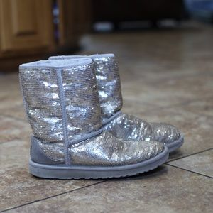 Sparkly Ugg Boots